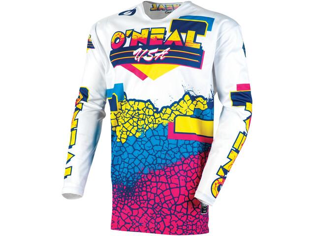O'Neal Mayhem Jersey Crackle 91 Men yellow/white/blue